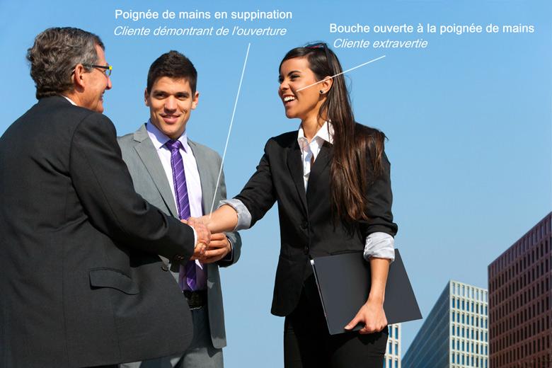 Formation spécifique au relationnel d'affaires: relation client, vente, réseautage